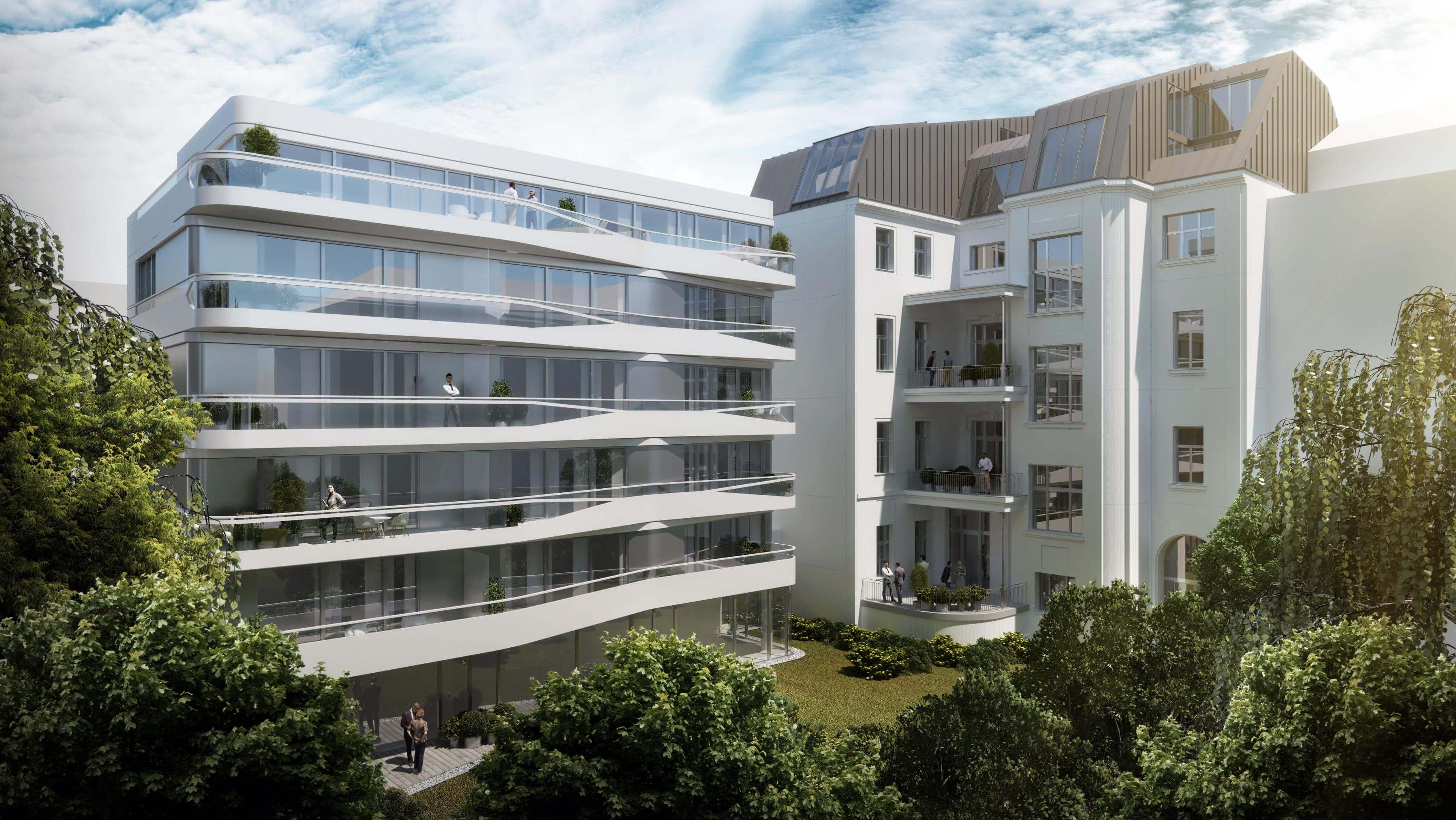 Presztízs lakások épülnek a diplomata-negyedben