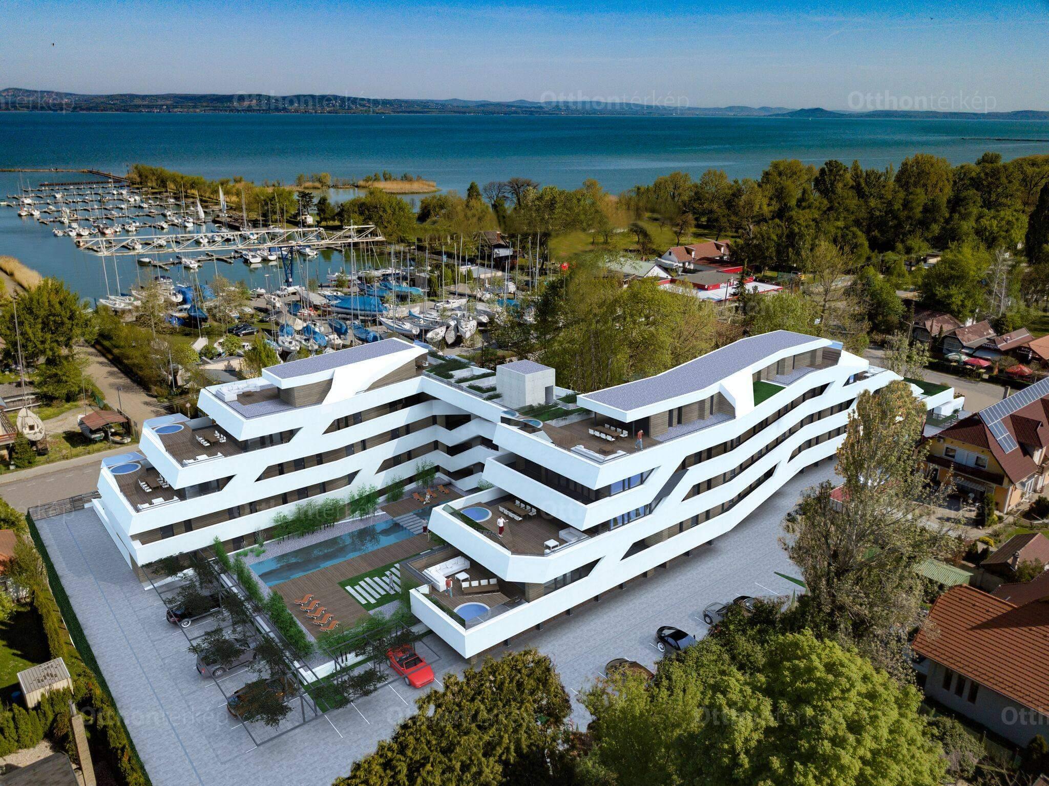 Über menő most a vízparti új építésű lakás !