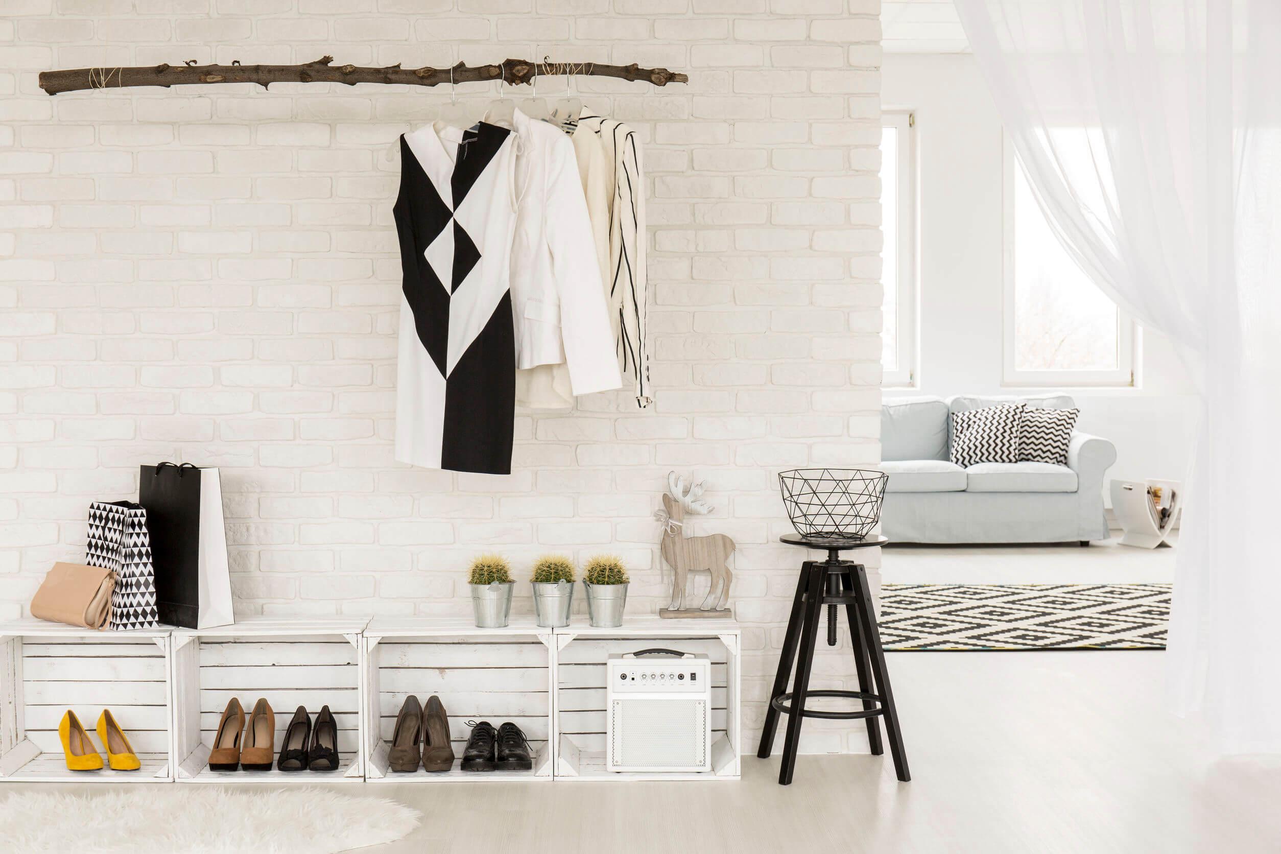 Kis lakás dizájn praktikus megoldásokkal!