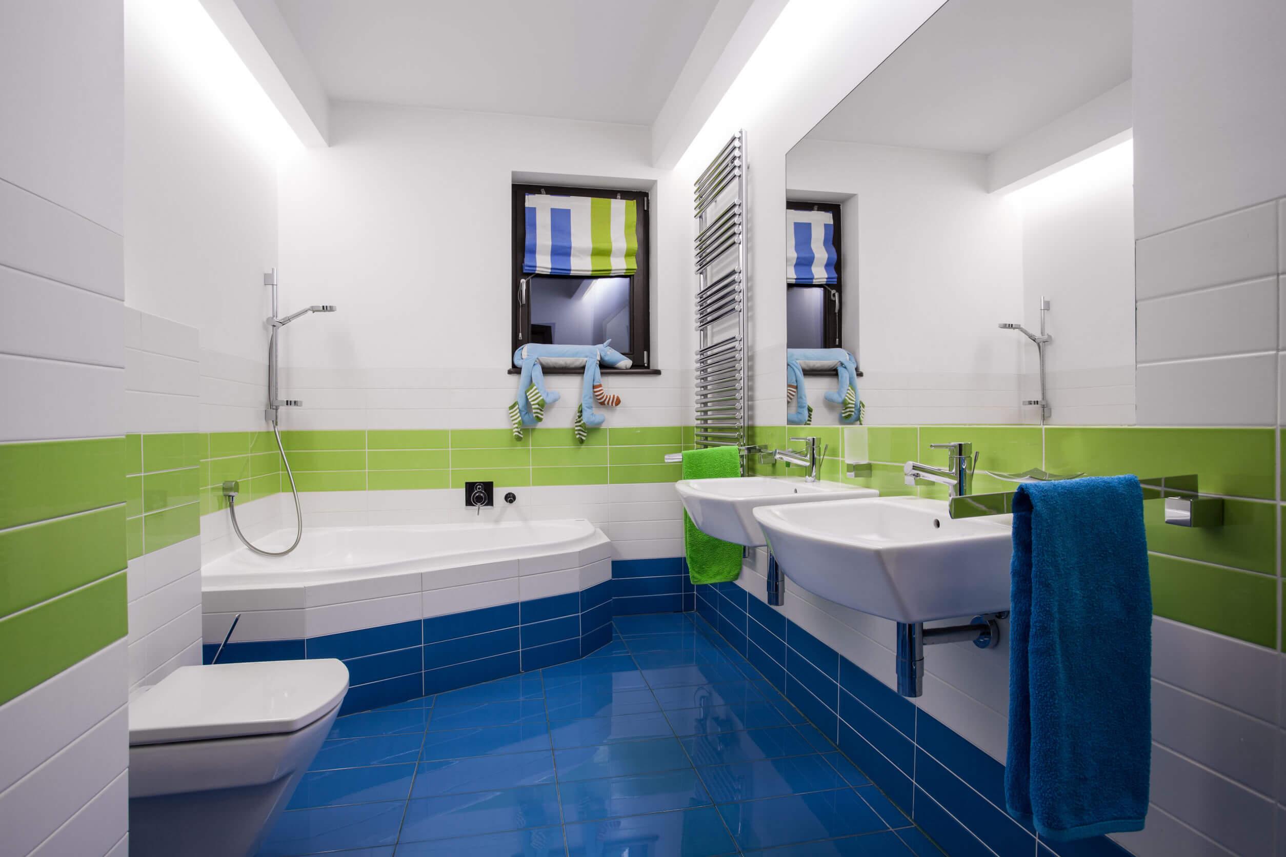 Milyen színű csempe kerüljön a fürdőszobába?