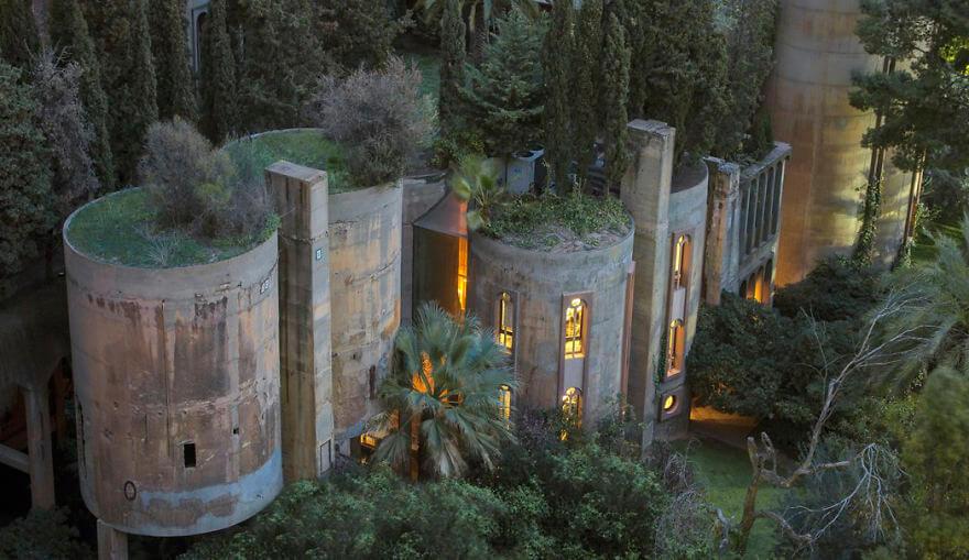 Cement gyárból világhírű luxus otthon!