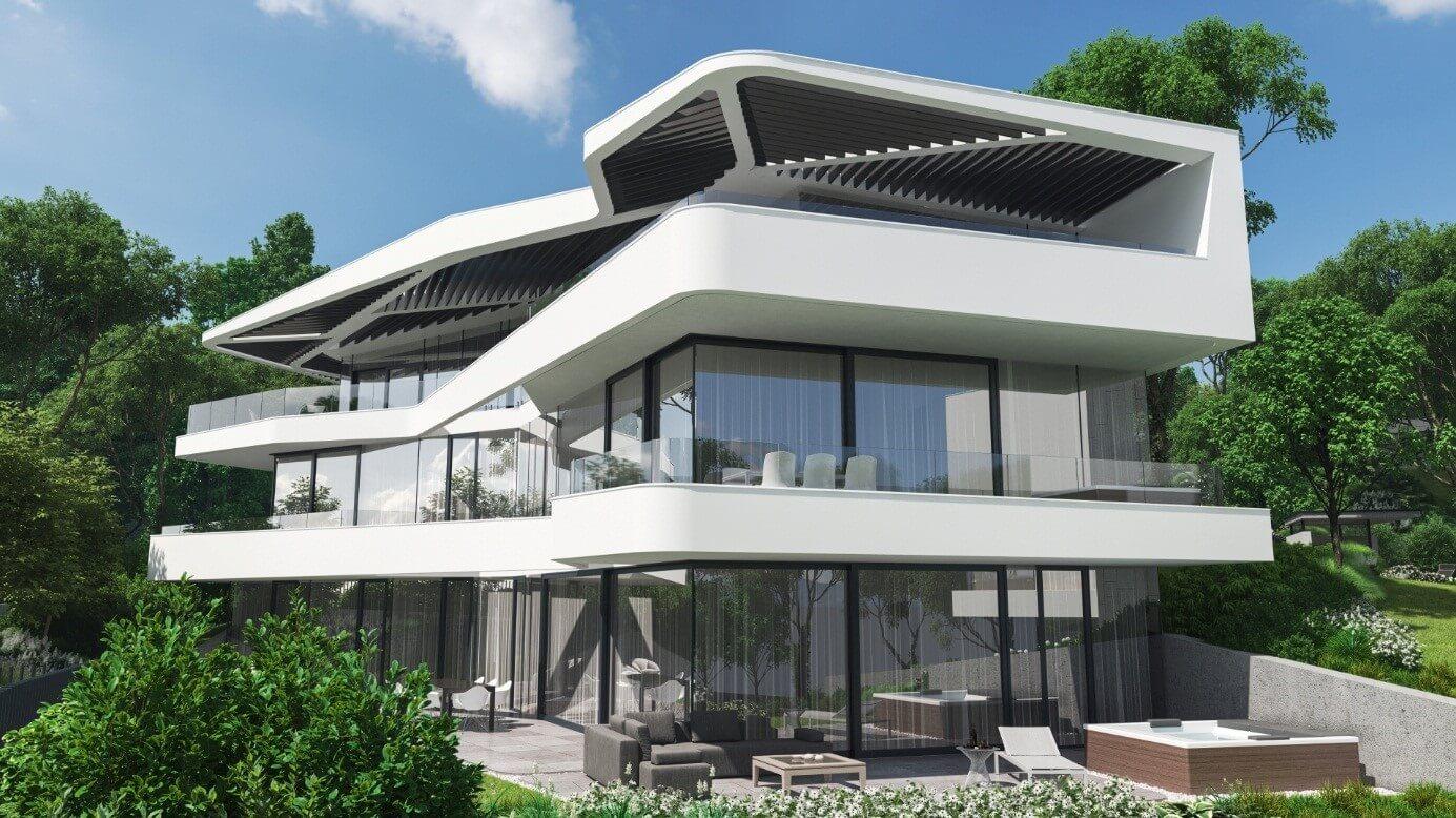 Készül Buda legszebb penthouse-a
