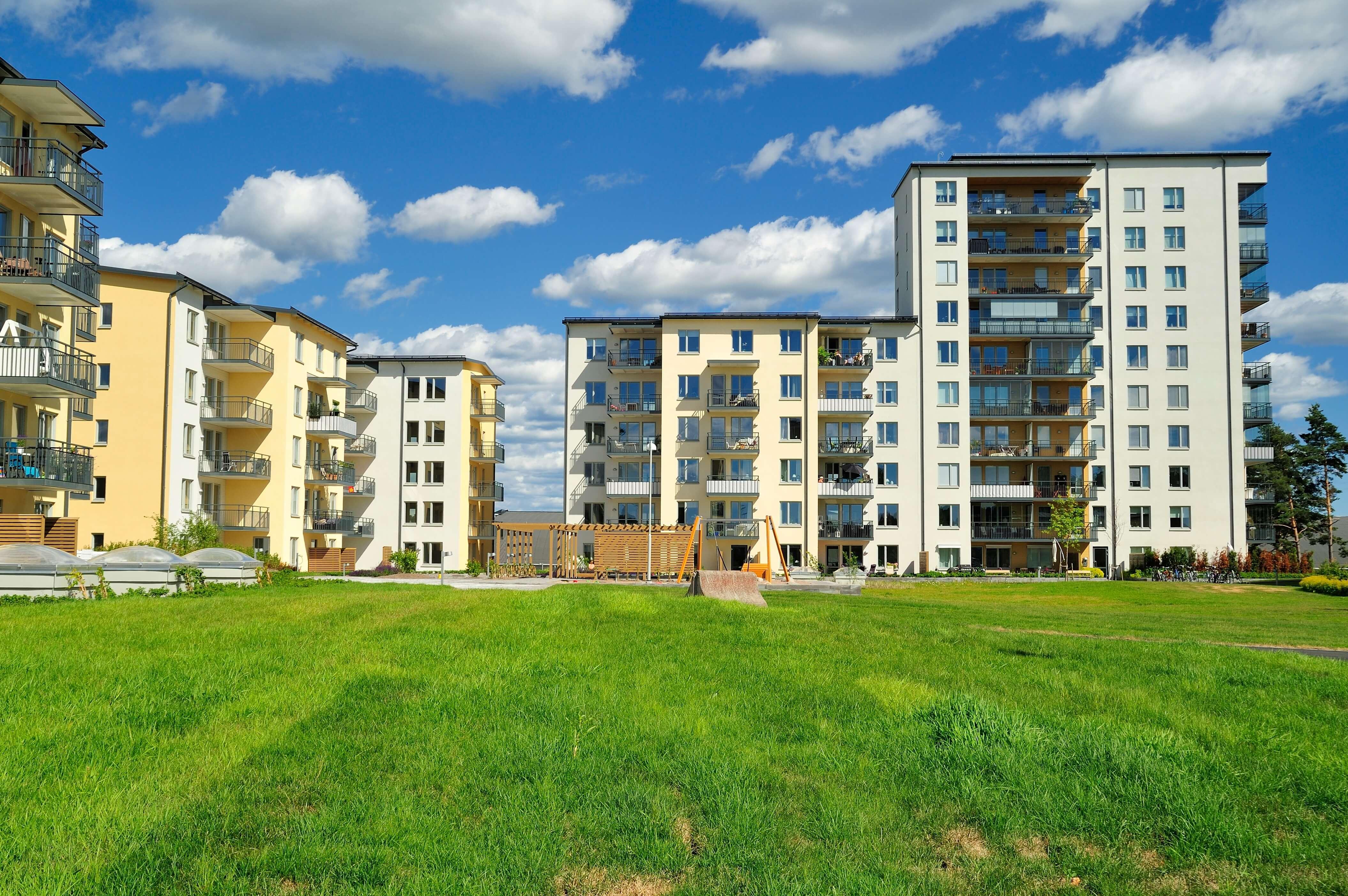 Fiatalos életstílus, modern új lakás