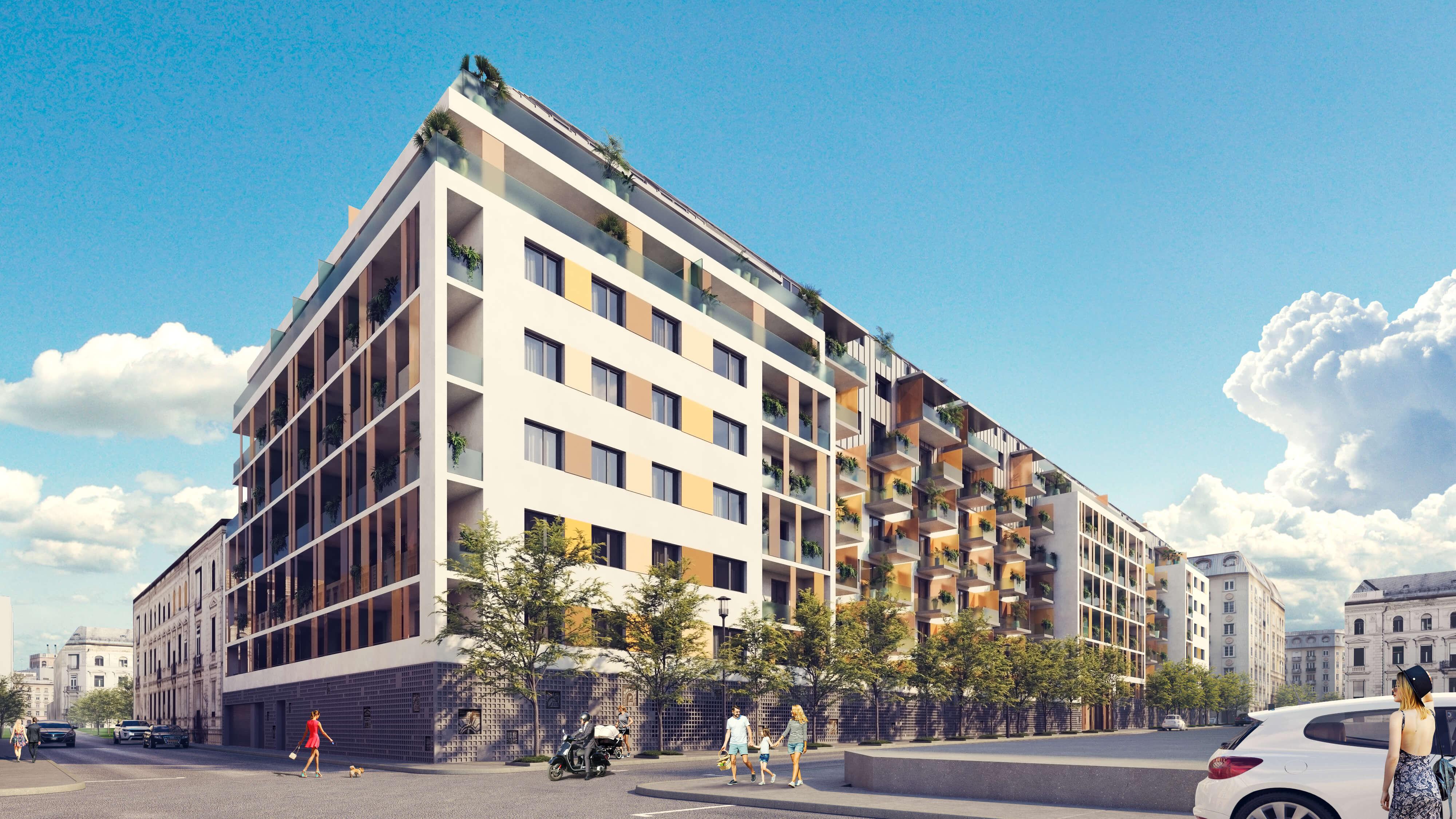 Magas hozam új építésű lakással, euró alapon