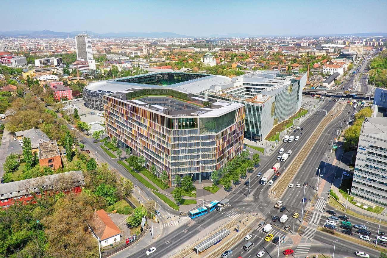A főváros új sztár-irodahelyszíne: a Népliget környéke