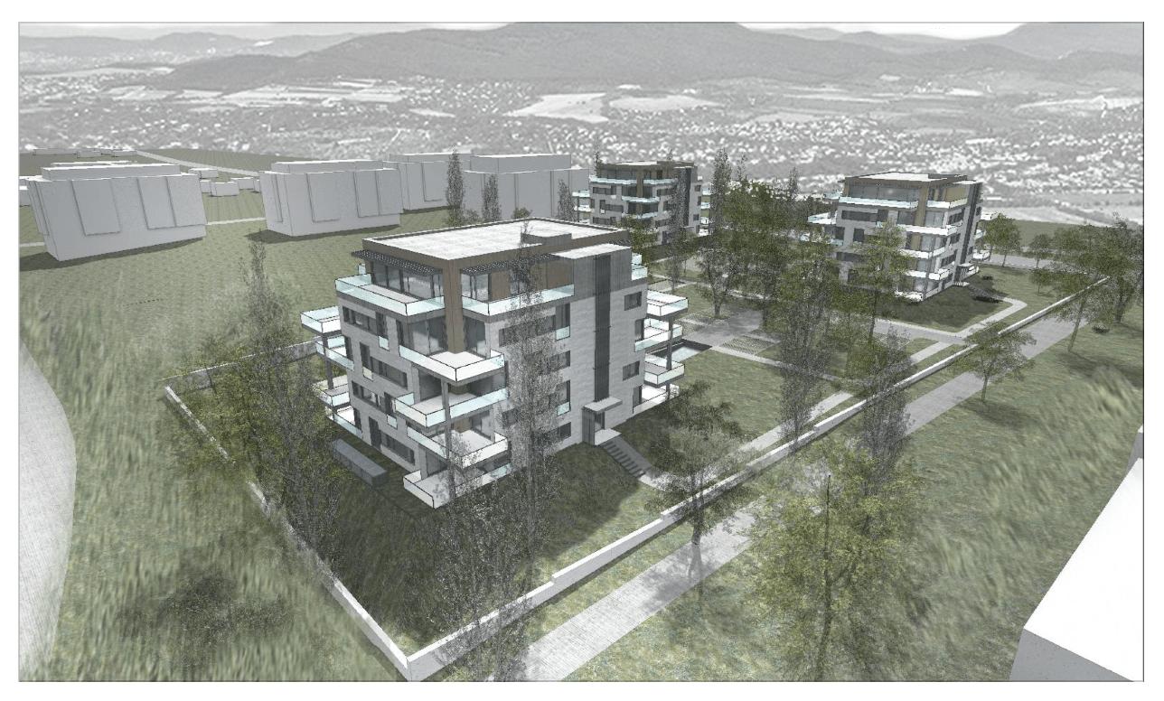 Építs lakóparkot a Rómain!