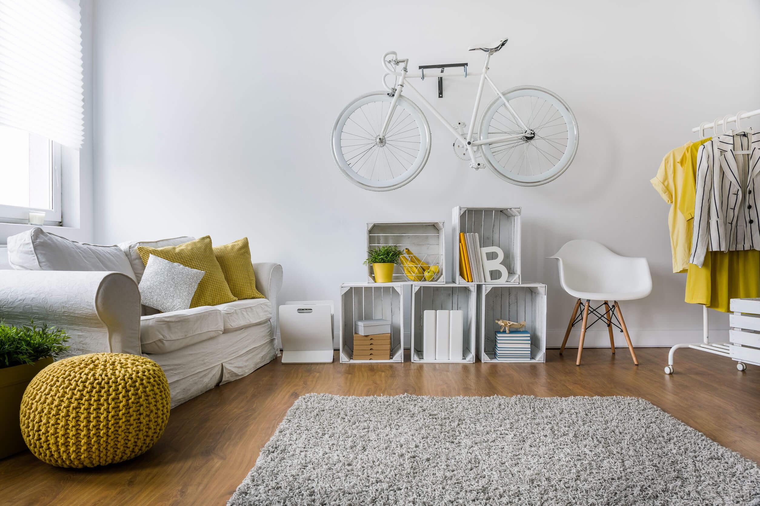 Színek az otthonunkban: lakások sárgában