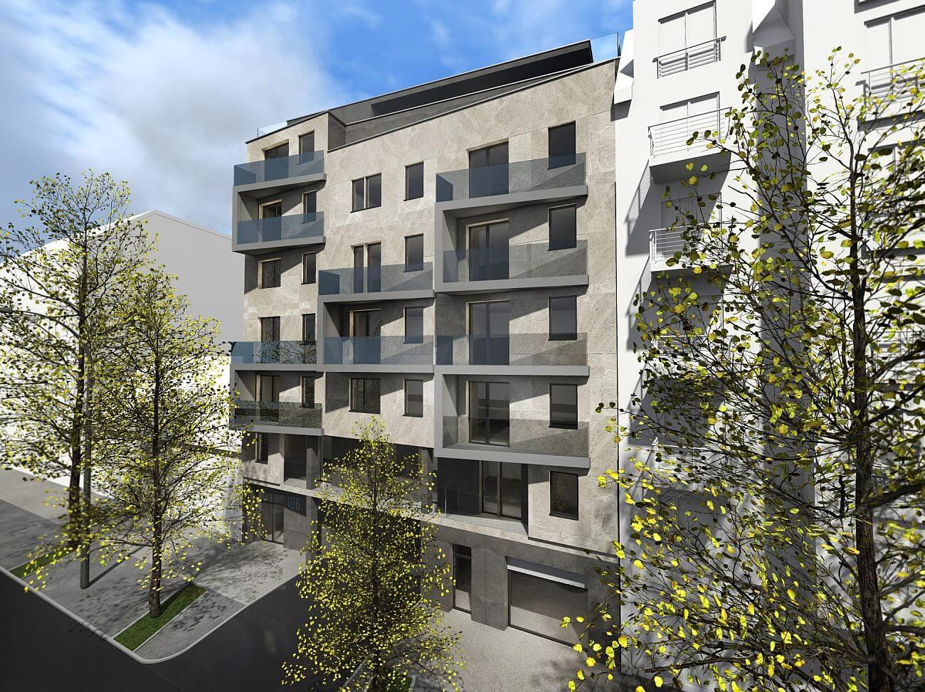 Itt a tavasz: gyorsan fogynak a lakások a Baross utcában
