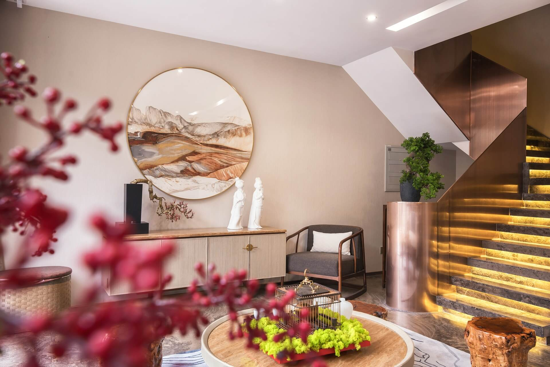 Nőies otthonok: lakások rózsaszínben