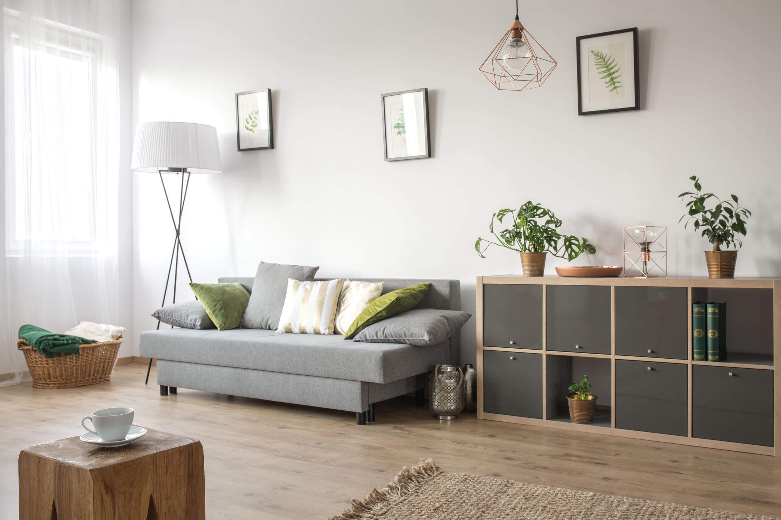 Így lehet egy kis nappali is otthonod oázisa!