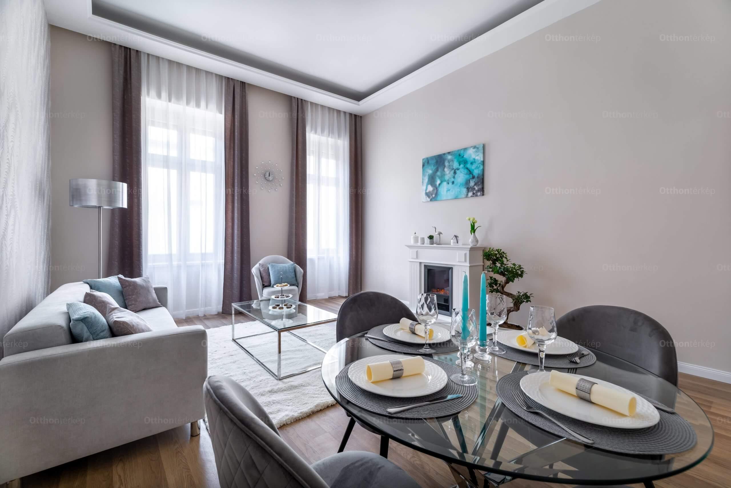 Kényelmes luxus-otthon, a körúttól csak 200 méterre
