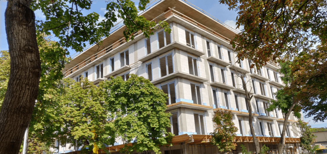 Ultramodern, panorámás lakások a Népliget mellől, ősfás környékről