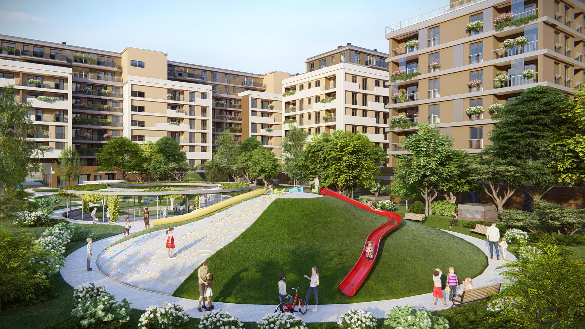 Családias lakópark a XIII. kerületben, ahova most Ön is ellátogathat!
