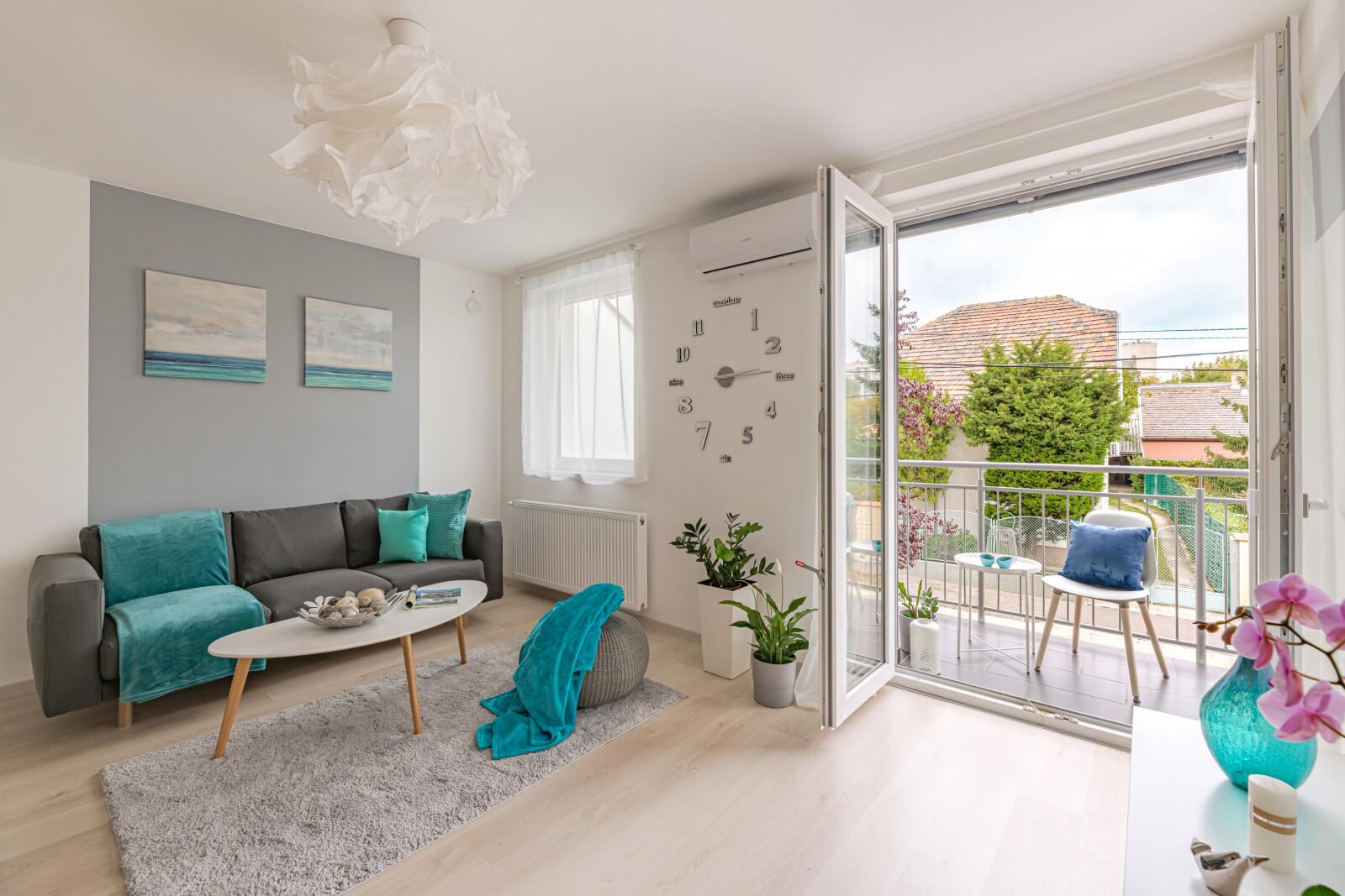 Kertvárosi idill a fővárosban: mindenkinek jut saját szoba ebben a gyönyörű új lakásban!