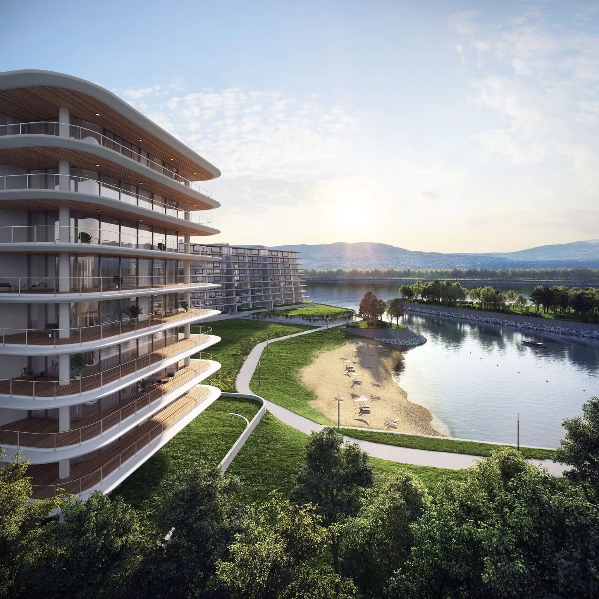 Nézd meg 3D-ben, és válaszd ki akciós Duna-parti, panorámás lakásod!