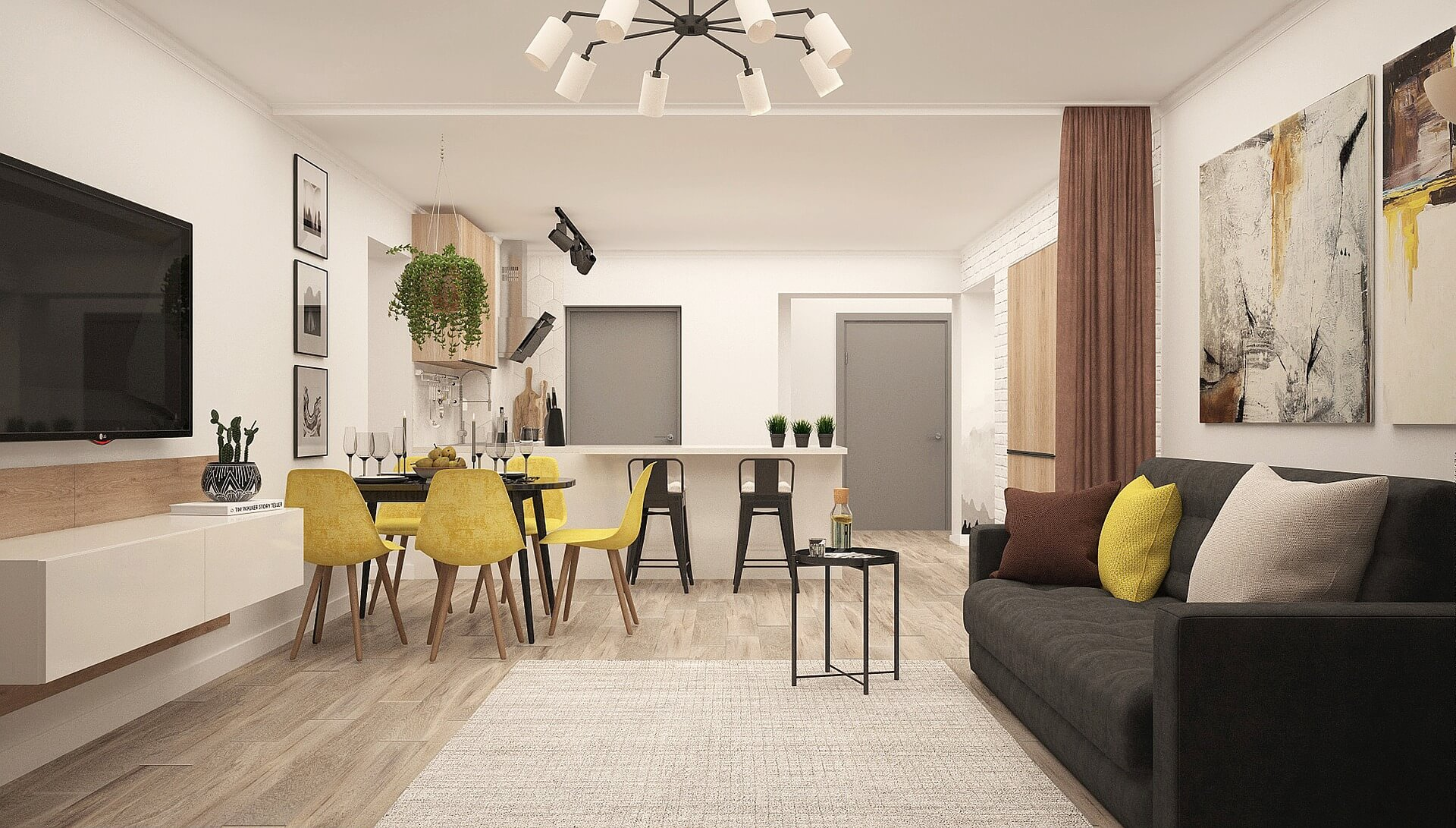 Első otthonotokat keresitek? Mutatunk néhány fiatalos modern új lakást!