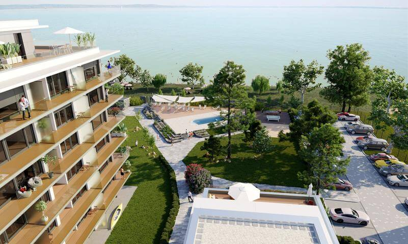 Már idén nyáron költözhet vízparti otthonába a Balatonon