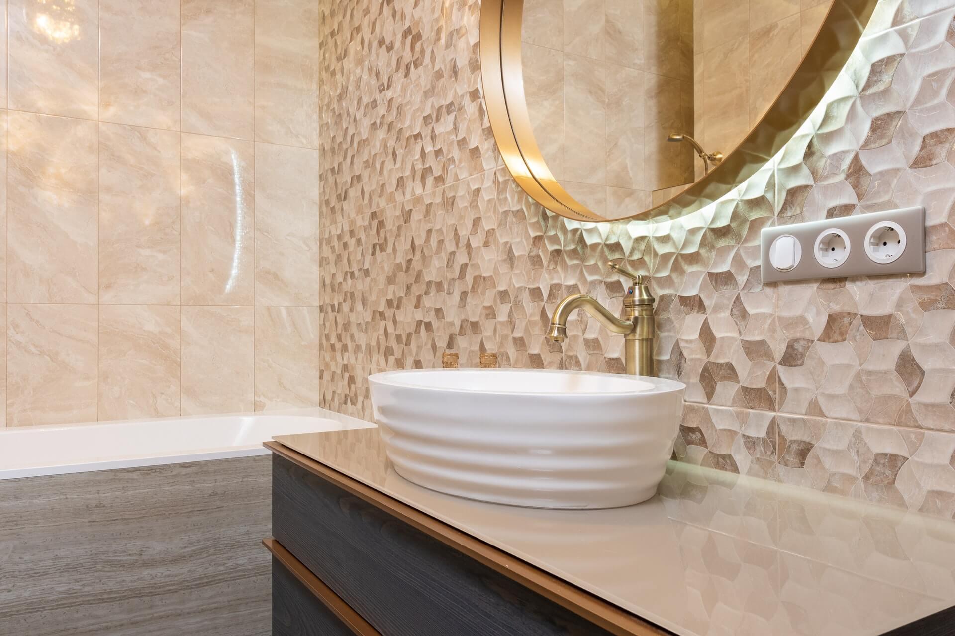 Ötletek hatszögletű csempére: A fürdőszobát és a konyhát is feldobják!