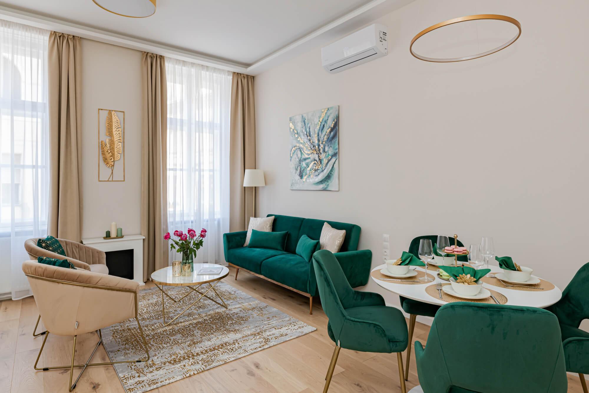 Elegancia és prémium minőség: nézze meg ezt a gyönyörű V. kerületi luxuslakást