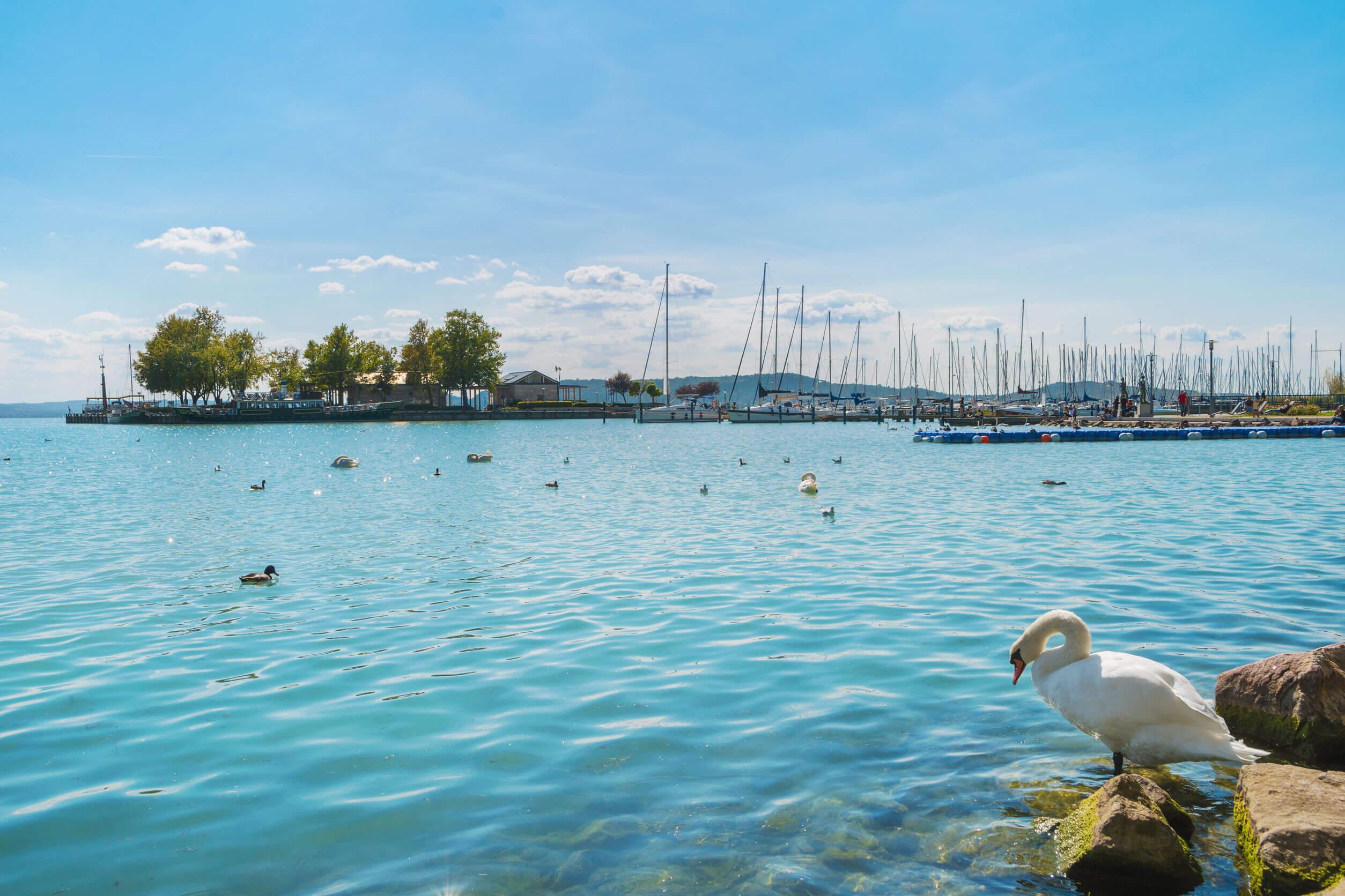 Luxus a Balatonon: Meseszép házakat találhatunk az északi parton